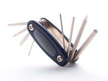 Универсальный инструмент на белизне Стоковое фото RF