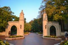 Университетский кампус Индианы Стоковое Изображение RF