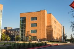 Университетский кампус Стоковое Изображение