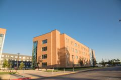 Университетский кампус Стоковое Изображение RF