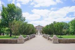 Университетский кампус Purdue Стоковое фото RF