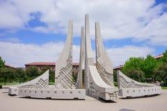 Университетский кампус Purdue стоковое фото