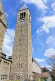 университет башни cornell часов стоковые изображения rf