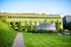 Университет библиотеки Варшавы в Польше стоковая фотография rf