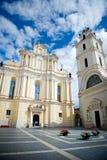 Университет Вильнюса, Вильнюс, Литва Стоковые Фото