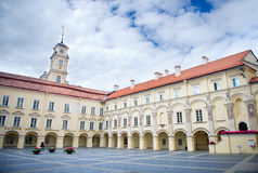 Университет Вильнюса, Вильнюс, Литва Стоковые Изображения