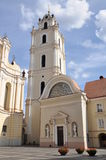 Университет Вильнюса в Литве Стоковые Фотографии RF