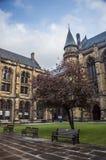 Университет двора Глазго внутреннего Стоковые Фотографии RF