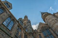 Университет Глазго, Шотландии, Великобритании Стоковые Изображения