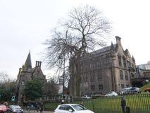 Университет Глазго, Шотландии, Великобритании Стоковое Изображение RF