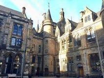 Университет Глазго, Шотландии, Великобритании Стоковые Фотографии RF