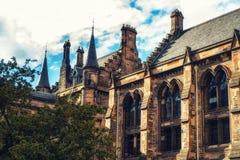 Университет Глазго, Шотландии Стоковая Фотография