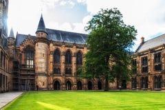 Университет Глазго, Шотландии Стоковое Изображение