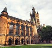 Университет Глазго, Шотландии Стоковые Фотографии RF