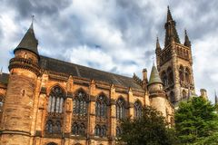 Университет Глазго, Шотландии Стоковое Фото