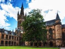 Университет Глазго, Шотландии Стоковое фото RF
