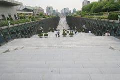 Университет женщины Сеула Ewha в Южной Корее Стоковое Фото