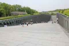 Университет женщины Ewha в Сеуле, Южной Корее Стоковое фото RF