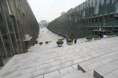 Университет женщины Ewha в Южной Корее Стоковые Фотографии RF