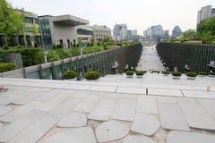 Университет женщины Ewha в Южной Корее Стоковая Фотография