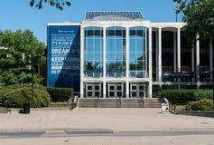 Университет Западной Вирджинии в Morgantown WV Стоковое фото RF