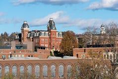 Университет Западной Вирджинии в Morgantown WV стоковое фото