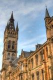 Университет здания Глазго главного - Шотландии Стоковое Изображение RF