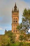 Университет здания Глазго главного - Шотландии Стоковое Фото