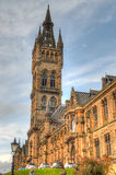 Университет здания Глазго главного - Шотландии Стоковое Изображение