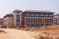 Университет кампуса Макао нового Стоковое Изображение
