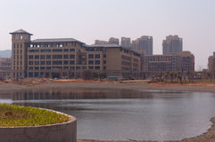 Университет кампуса Макао нового Стоковая Фотография