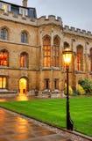 Университет Кембриджа в Кембридже, Англии, Великобритании стоковые изображения rf