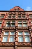 Университет Манчестера Великобритании стоковые изображения