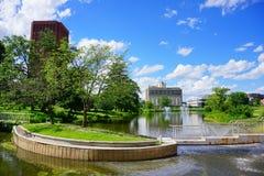 Университет Массачусетса Амхорста стоковая фотография rf