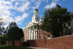 Университет Мерилендаа стоковое изображение