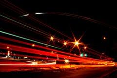 университет ночи свода Стоковое Изображение