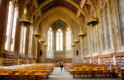 Университет Сиэтл библиотеки Вашингтона центральной стоковая фотография