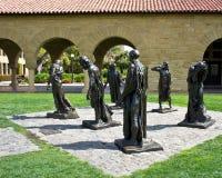 университет статуй stanford стоковая фотография rf