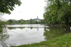 Университет Стерлинга в Шотландии Стоковые Изображения RF