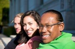 университет студентов кампуса Стоковая Фотография RF