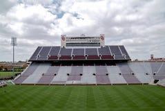 Университет футбольного стадиона Оклахомы Стоковые Фотографии RF