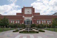Университет футбольного стадиона Оклахомы Стоковые Изображения