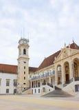 университет coimbra Португалии Стоковые Фотографии RF