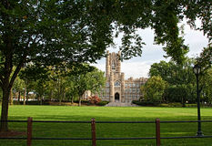 Университет Fordham, бронкс, Нью-Йорк Стоковое фото RF
