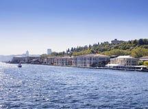 Университет Galatasaray на Bosphorus в Стамбуле Стоковая Фотография
