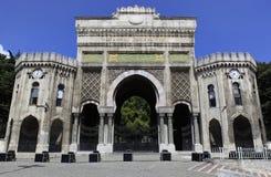 университет istanbul Стоковая Фотография RF