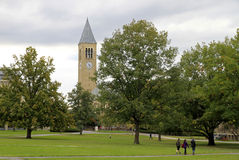 университет ithaca cornell кампуса Стоковые Фотографии RF