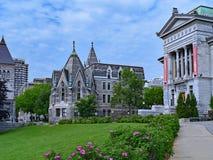 Университет McGill, Монреаль стоковые изображения