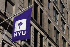 Университет NYU Нью-Йорка стоковое фото