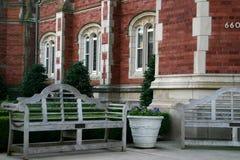 университет ou oklahoma кампуса Стоковая Фотография